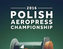 2016 Polish Aeropress Campionship Poster