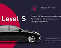 Level S - design concept
