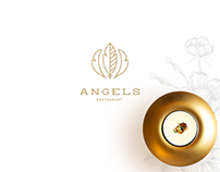 ANGELS RESTAURANT / brand identity
