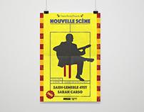 Nouvelle Scéne - Poster Design