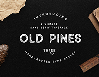 Old Pines Vintage Typeface