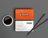 ô Sushi Brand Identity