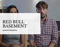 Guionista documental Red Bull Basement