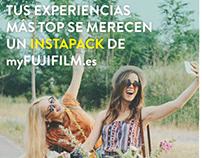 Campaña #SeMereceUnInstaPack de myFUJIFILM