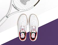 Lacoste L!VE Addict: Campaign shoe retouching