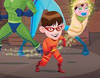 Super Hero Family!
