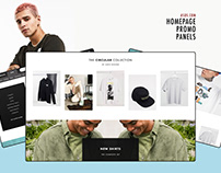 Asos.com Homepage Promo Modules Design