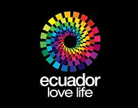 Ecuador Ama la Vida • Manejo de Logotipo