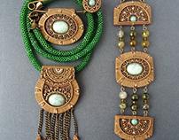 "This set of jewelry ""Steward"""
