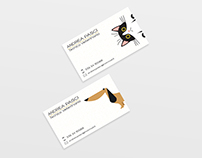 NurseVet | Business Card Graphic Design