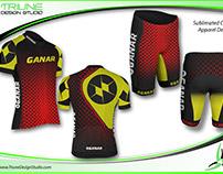 Ganar Gear Cycling Apparel Design