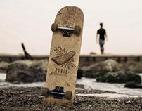 AYNIB Skateboards   Logo Design