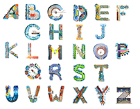 Typhography-Alfabet