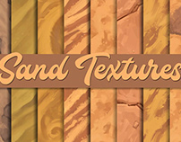 Hand-painted Sand textures – Tileable