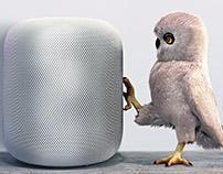 Apple Homepod CGI Composite