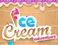 """IceCream"" MATCH 3 GAME"