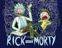 [Illustration] Rick and Morty