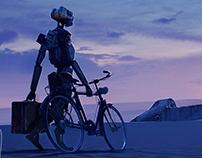 March of robots / Le voyageur