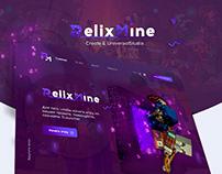 Разработка Веб-дизайна для RelixMine!