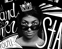 Aretha Franklin | Lettering