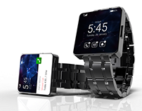 Android Smart Watch Design Concept