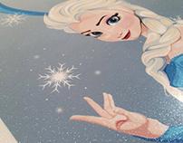 Frozen Longboard