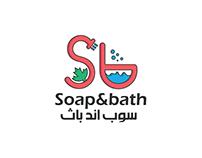Soap & bath logo option 1