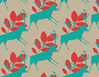 Stag Vector Pattern