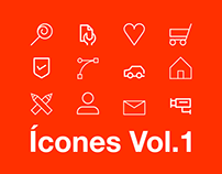 Icons 2018 | Icon Set | Ícones Volume.1