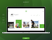 Creative Digital Agency Portfolio Web Design