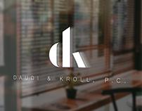 Daudi & Kroll; Logo and Branding