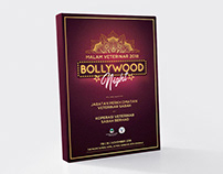Bollywood Night Event Booklet Cover