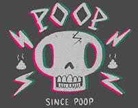 Poop Metal Tee