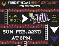 Vegan Hot Spots Poster