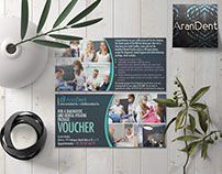 Arandent Voucher graphic design