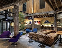 1888 Hotel by Shed Architects