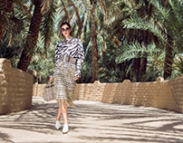 Cosmopolitan Middle East fashion editorial