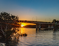 Silverwater Park Sunset
