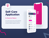 Self-Care Mobile Application for Telekom