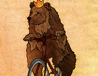 A Bear and His Bike