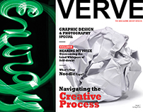 Magazine Cover for Verve