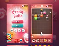 Candy Ballz - game app concepts