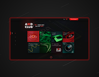 Concept for AMD fun club