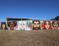 """Immigrants "". Imagine Mural Festival. Louisville, KY"
