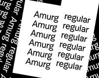Amurg Typeface