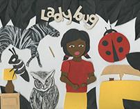 Ladybug - Stop Motion Animation & Handmade Book