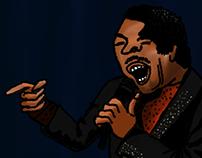 illustration   Bobby Rush (åmål bluesfest), 2015