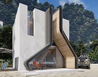 Pisqal: A Small House by Shomali Design Studio