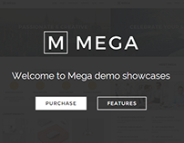 Mega - Creative Multi-Purpose WordPress Theme