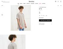 Details t-shirt / Bershka man